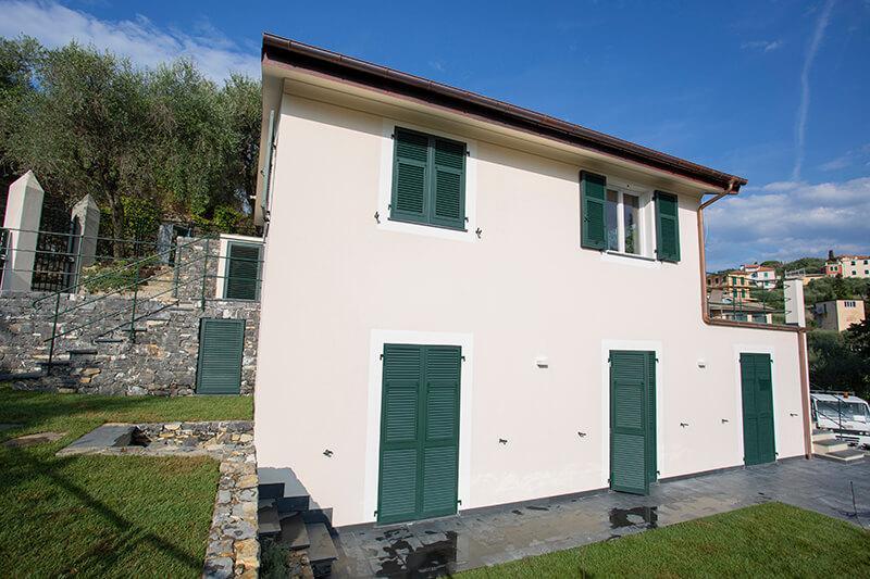 costruzione villa rapallo
